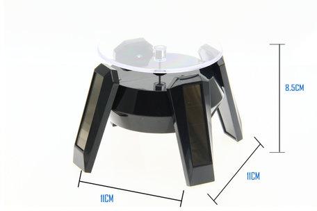 Solar Display 360° Roterende 9 CM Hoog