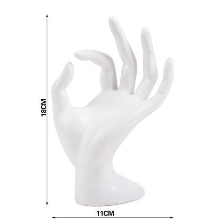 Displays Hand Marmer look Wit