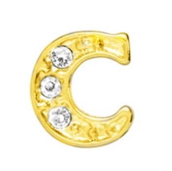 10 Stuks Floating Charm letter C