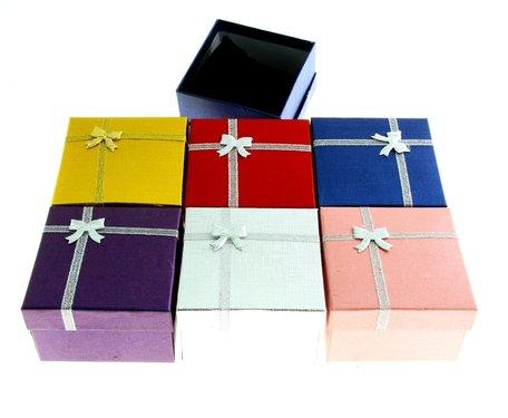 6 stuks Verpakkings doosjes Armband of horloge 9x9x6 cm