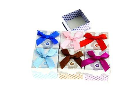 24 stuks Verpakkings doosjes ring 5x5x3.9 cm