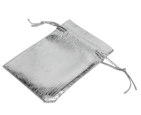 Organza Zakjes Metallic 9x7 cm Pak van 50 Stuks