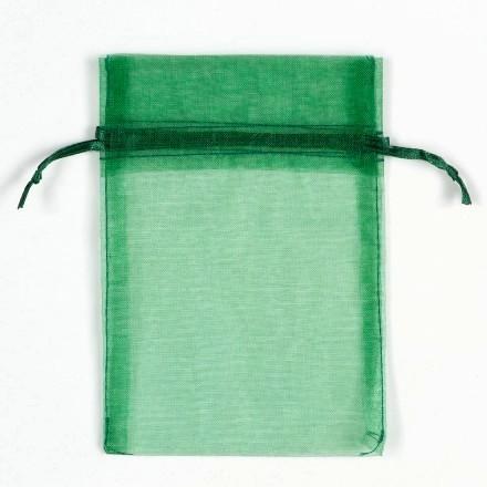 Organza zakjes Groen 18x15 cm Pak van 100 Stuks