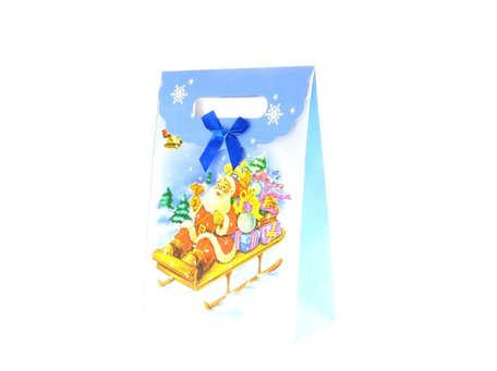 Christmas bags, 12.5x16.5x6cm 12pcs, WxHxD price per 12 pieces