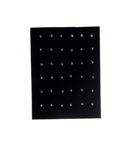 Display Voor 36 Piercings Fluweel 14 CM Hoog