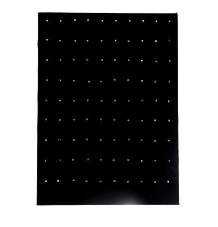 Display Voor 90 Piercings Fluweel 33 CM Hoog