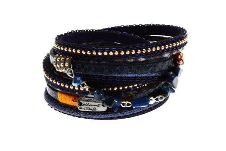 Lederen Ibiza Armband