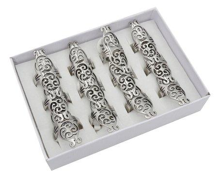12 RVS Ringen - Zilver