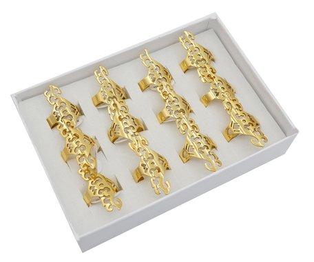 12 RVS Ringen - Goud