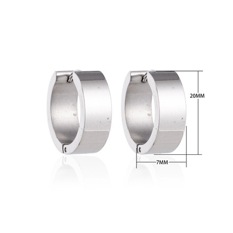 Creoles Stainless Steel Earrings