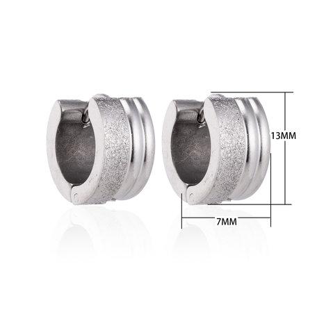 Creolen RVS Oorringen Roestvrij Staal - Zilver