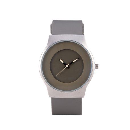 Quartz Horloge (35mm) - Grijs & Zilver