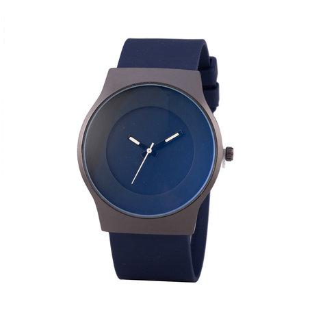 Quartz Horloge (35mm) - Blauw & Zwart