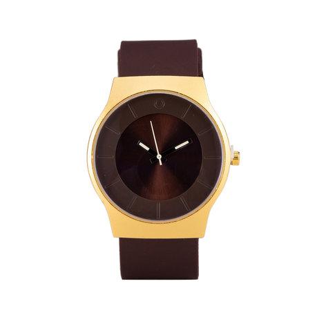 Quartz Horloge - Rood & Goud