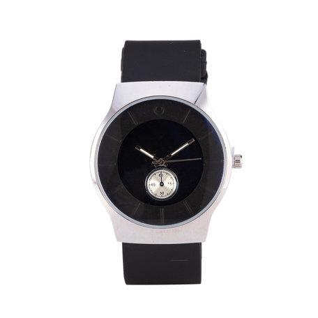 Quartz Horloge - Zwart & Zilver