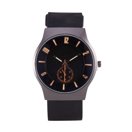Quartz Horloge - Zwart & Grijs