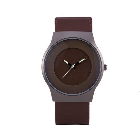 Quartz Horloge - Bruin & Zwart