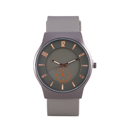 Quartz Horloge - Grijs & Zwart