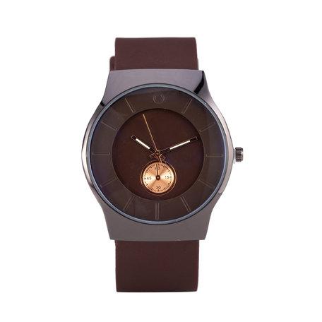 Quartz Horloge - Rood & Zwart