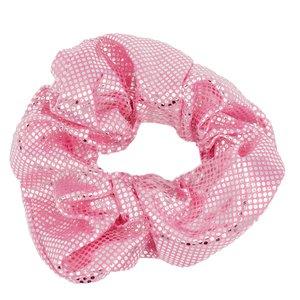 Glitter Scrunchie Roze