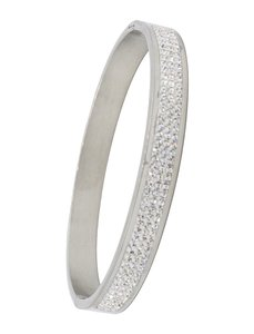 ARMBAND STAINLESS STEEL Kleur Zilver