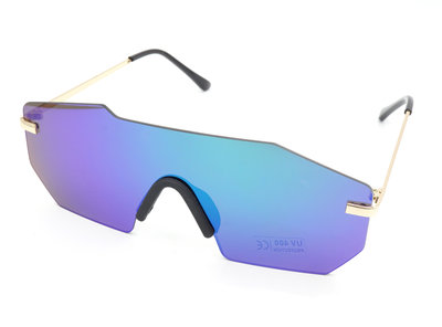 Snelle Planga - Vluchtige Planga Zonnebril - Blauw & Paars