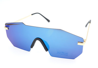 Snelle Planga - Vluchtige Planga Zonnebril - Blauw