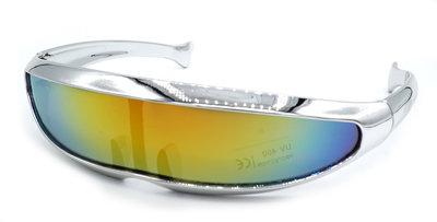 Snelle Planga Gestroomlijnd - vlot Montuurtje - Zilver Metallic