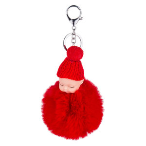 Baby Sleutel/Tas hanger Rood