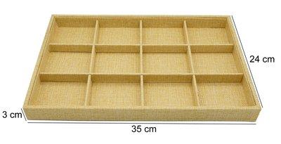 Sieraden Display Bamboe-Look 12 vakken
