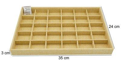 Sieraden Display Bamboe-Look met 30 Vakken