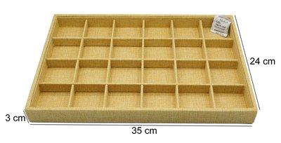 Sieraden Display Bamboe-Look met 24 Vakken