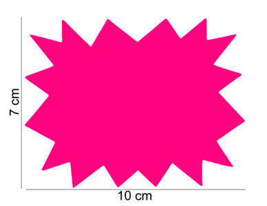 10 stuks Promotie Kaarten 10x7 cm