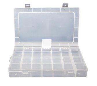 23 Vak Doorzichtig Sieraden Accessoires Display Koffer