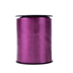 1 x Krullint 5 mm x 500 mtr., Kleur Donker Paars