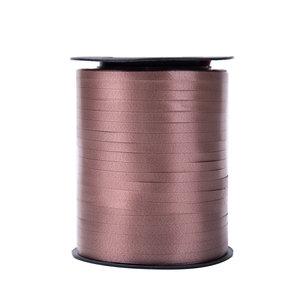 1 x Krullint 5 mm x 500 mtr., Kleur Bruin