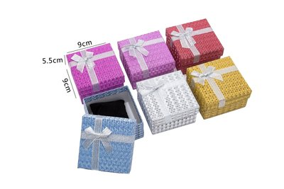 6 stuks Verpakkings doosjes Armband of horloge 9x9x5,5 cm