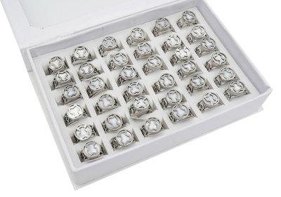 36 RVS Ringen - Zilver