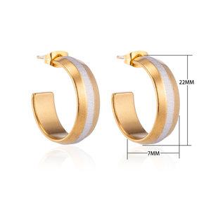 Creoles Stainless Steel Earrings