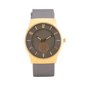 Quartz Horloge (35mm) - Grijs & Goud