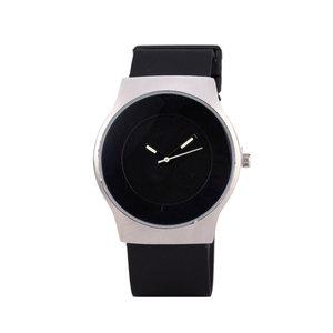 Quartz Horloge (35mm) - Zwart & Zilver