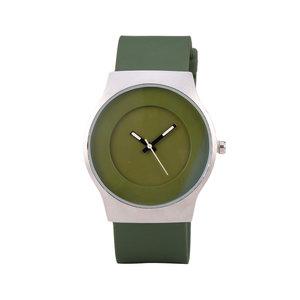 Quartz Horloge (35mm) - Groen & Zilver