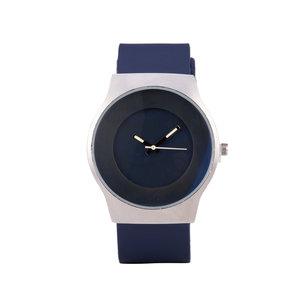 Quartz Horloge (35mm) - Blauw & Zilver
