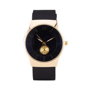 Quartz Horloge - Zwart & Goud