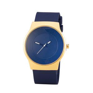 Quartz Horloge - Blauw & Goud