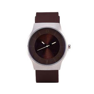 Quartz Horloge - Bruin & Zilver