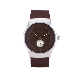 Quartz Watch - Brown & Silver