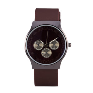 Quartz Watch - Black & Brown