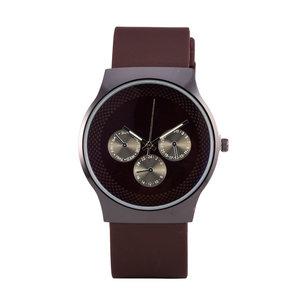 Quartz Horloge - Zwart & Bruin