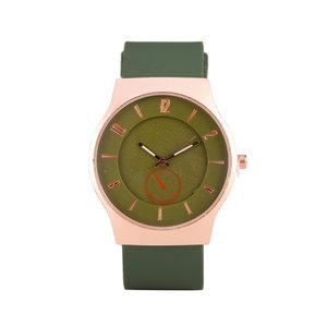 Quartz Horloge - Groen & Rosé